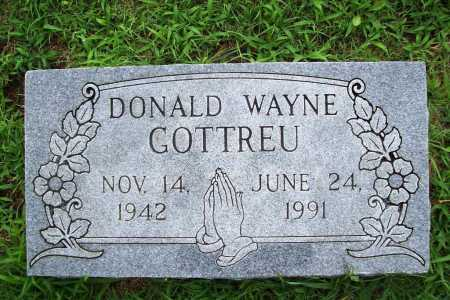 GOTTREU, DONALD WAYNE - Benton County, Arkansas | DONALD WAYNE GOTTREU - Arkansas Gravestone Photos