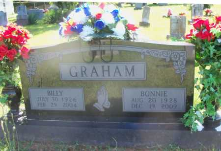GRAHAM, BILLY E. - Benton County, Arkansas | BILLY E. GRAHAM - Arkansas Gravestone Photos