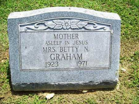 GRAHAM, BETTY N. - Benton County, Arkansas | BETTY N. GRAHAM - Arkansas Gravestone Photos