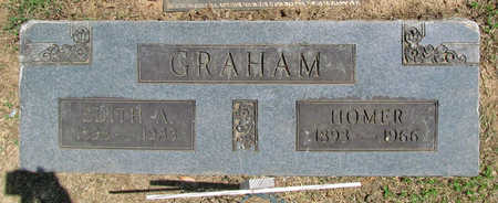 HUCKABY GRAHAM, EDITH AGNES - Benton County, Arkansas | EDITH AGNES HUCKABY GRAHAM - Arkansas Gravestone Photos