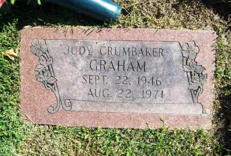 CRUMBAKER GRAHAM, JUDY - Benton County, Arkansas | JUDY CRUMBAKER GRAHAM - Arkansas Gravestone Photos