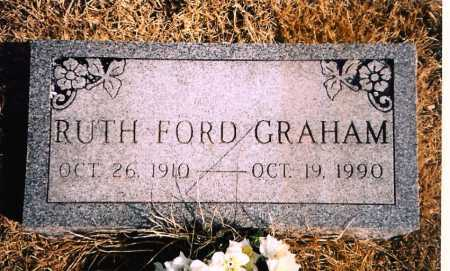FORD GRAHAM, RUTH - Benton County, Arkansas | RUTH FORD GRAHAM - Arkansas Gravestone Photos