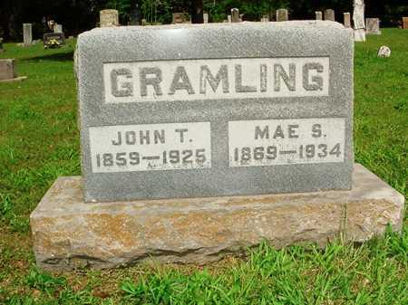 GRAMLING, JOHN T. - Benton County, Arkansas | JOHN T. GRAMLING - Arkansas Gravestone Photos