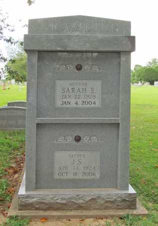 ELDERTON GRAMLING, SARAH E. - Benton County, Arkansas | SARAH E. ELDERTON GRAMLING - Arkansas Gravestone Photos