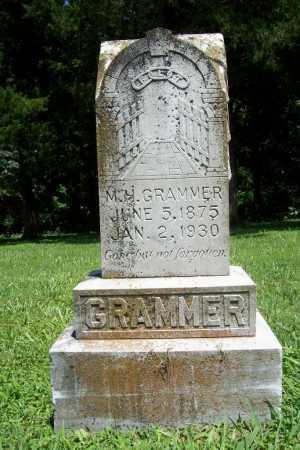 GRAMMER, MARION H - Benton County, Arkansas | MARION H GRAMMER - Arkansas Gravestone Photos