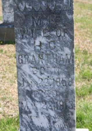 GRANTHAM, M. E. (CLOSEUP) - Benton County, Arkansas | M. E. (CLOSEUP) GRANTHAM - Arkansas Gravestone Photos