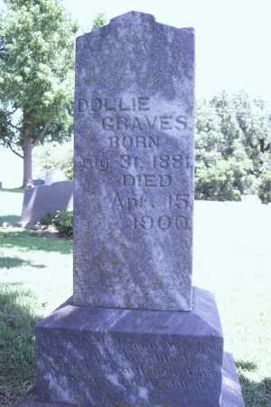 GRAVES, DOLLIE - Benton County, Arkansas | DOLLIE GRAVES - Arkansas Gravestone Photos