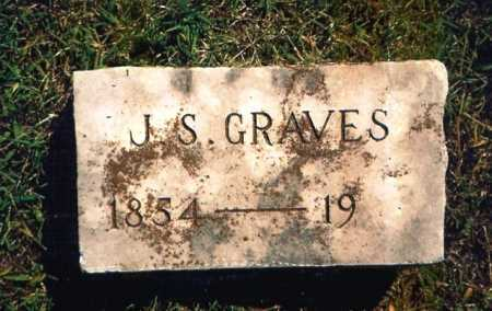 GRAVES, J. S. - Benton County, Arkansas | J. S. GRAVES - Arkansas Gravestone Photos