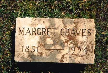 GRAVES, MARGRET - Benton County, Arkansas | MARGRET GRAVES - Arkansas Gravestone Photos