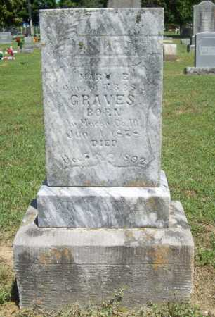 GRAVES, MARY E. - Benton County, Arkansas | MARY E. GRAVES - Arkansas Gravestone Photos