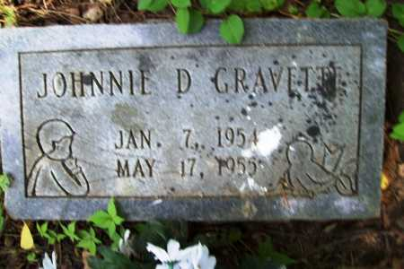 GRAVETTE, JOHNNIE D. - Benton County, Arkansas | JOHNNIE D. GRAVETTE - Arkansas Gravestone Photos