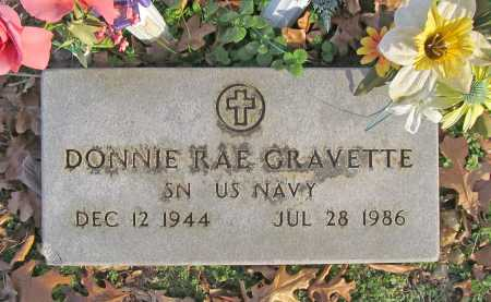 GRAVETTE (VETERAN), DONNIE RAE - Benton County, Arkansas | DONNIE RAE GRAVETTE (VETERAN) - Arkansas Gravestone Photos