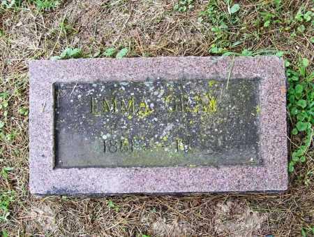 GRAY, EMMA - Benton County, Arkansas | EMMA GRAY - Arkansas Gravestone Photos