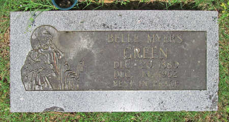 GREEN, BELLE - Benton County, Arkansas | BELLE GREEN - Arkansas Gravestone Photos