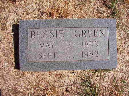 GREEN, BESSIE - Benton County, Arkansas | BESSIE GREEN - Arkansas Gravestone Photos