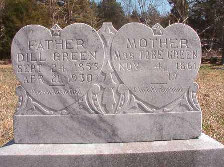 GREEN, MRS. TOBE - Benton County, Arkansas | MRS. TOBE GREEN - Arkansas Gravestone Photos