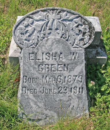 GREEN, ELISHA W - Benton County, Arkansas | ELISHA W GREEN - Arkansas Gravestone Photos