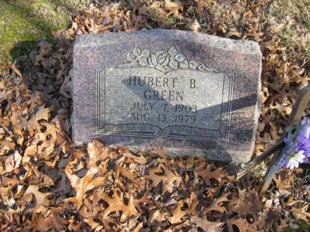 GREEN, HUBERT B. - Benton County, Arkansas | HUBERT B. GREEN - Arkansas Gravestone Photos