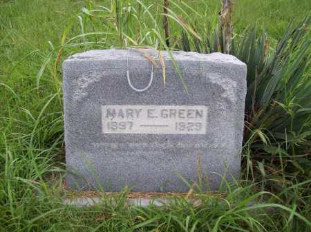GREEN, MARY ELLEN - Benton County, Arkansas | MARY ELLEN GREEN - Arkansas Gravestone Photos