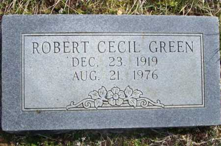 GREEN (VETERAN WWII), ROBERT CECIL - Benton County, Arkansas | ROBERT CECIL GREEN (VETERAN WWII) - Arkansas Gravestone Photos