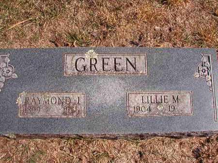 GREEN, RAYMOND J. - Benton County, Arkansas   RAYMOND J. GREEN - Arkansas Gravestone Photos