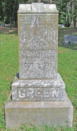 GREEN, THOMAS - Benton County, Arkansas | THOMAS GREEN - Arkansas Gravestone Photos