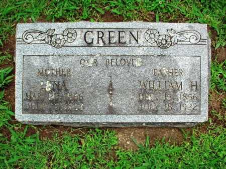 GREEN, WILLIAM H. - Benton County, Arkansas | WILLIAM H. GREEN - Arkansas Gravestone Photos
