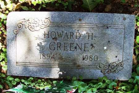 GREENE, HOWARD H. - Benton County, Arkansas | HOWARD H. GREENE - Arkansas Gravestone Photos