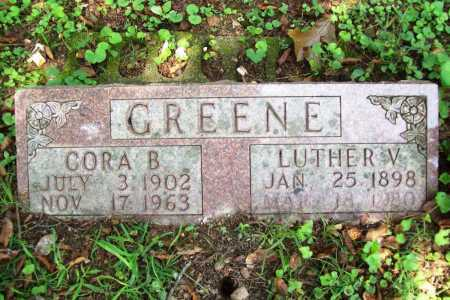 GREENE, CORA B. - Benton County, Arkansas | CORA B. GREENE - Arkansas Gravestone Photos