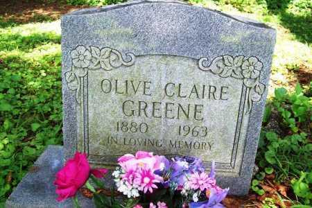 GREENE, OLIVE CLAIRE - Benton County, Arkansas | OLIVE CLAIRE GREENE - Arkansas Gravestone Photos
