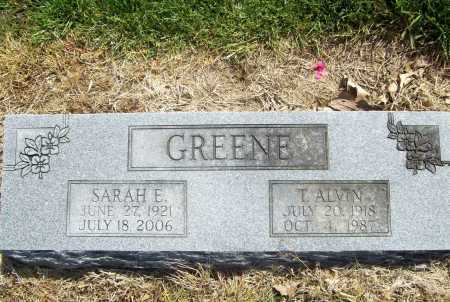 GREENE, T. ALVIN - Benton County, Arkansas | T. ALVIN GREENE - Arkansas Gravestone Photos