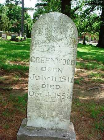GREENWOOD, ALFRED B. - Benton County, Arkansas | ALFRED B. GREENWOOD - Arkansas Gravestone Photos