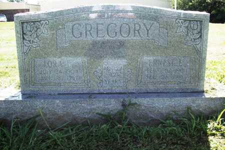 GREGORY, ERNEST L. - Benton County, Arkansas | ERNEST L. GREGORY - Arkansas Gravestone Photos