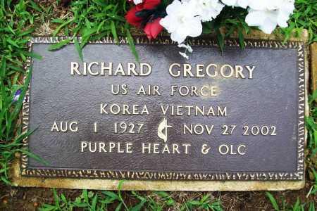 GREGORY (VETERAN 2 WARS), REV. RICHARD - Benton County, Arkansas | REV. RICHARD GREGORY (VETERAN 2 WARS) - Arkansas Gravestone Photos