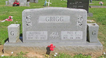 GRIGG, BLUEBELL J. - Benton County, Arkansas | BLUEBELL J. GRIGG - Arkansas Gravestone Photos