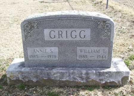 GRIGG, WILLIAM T. - Benton County, Arkansas | WILLIAM T. GRIGG - Arkansas Gravestone Photos