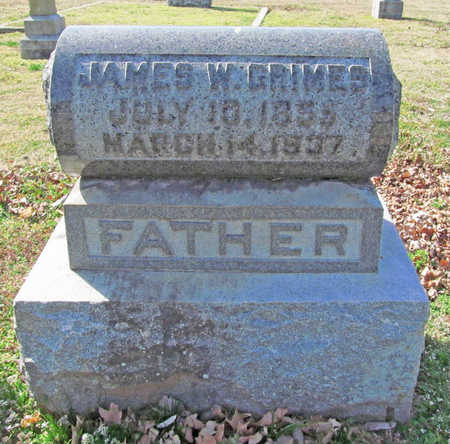 GRIMES, JAMES W - Benton County, Arkansas | JAMES W GRIMES - Arkansas Gravestone Photos