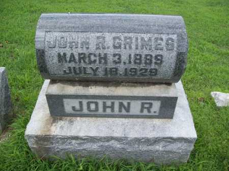 GRIMES (VETERAN), JOHN ROBERT - Benton County, Arkansas | JOHN ROBERT GRIMES (VETERAN) - Arkansas Gravestone Photos