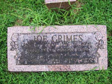 GRIMES, JOE - Benton County, Arkansas | JOE GRIMES - Arkansas Gravestone Photos