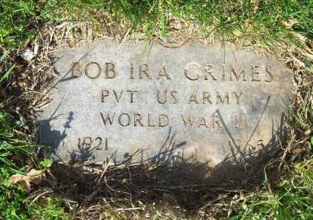 GRIMES (VETERAN WWII), BOB IRA - Benton County, Arkansas | BOB IRA GRIMES (VETERAN WWII) - Arkansas Gravestone Photos