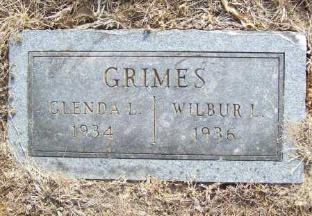 GRIMES, WILBUR L. - Benton County, Arkansas | WILBUR L. GRIMES - Arkansas Gravestone Photos