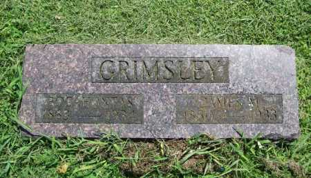GRIMSLEY, POCAHONTAS - Benton County, Arkansas | POCAHONTAS GRIMSLEY - Arkansas Gravestone Photos