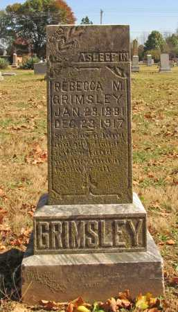 GRIMSLEY, REBECCA M - Benton County, Arkansas | REBECCA M GRIMSLEY - Arkansas Gravestone Photos