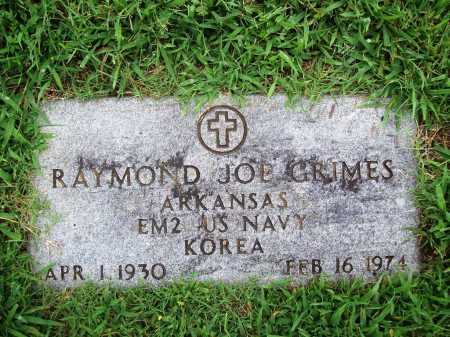 GRIMES (VETERAN KOR), RAYMOND JOE - Benton County, Arkansas | RAYMOND JOE GRIMES (VETERAN KOR) - Arkansas Gravestone Photos