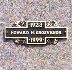 GROSVENOR, HOWARD H. - Benton County, Arkansas | HOWARD H. GROSVENOR - Arkansas Gravestone Photos