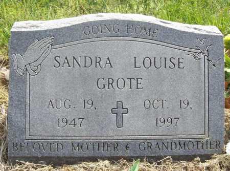 GROTE, SANDRA LOUISE - Benton County, Arkansas | SANDRA LOUISE GROTE - Arkansas Gravestone Photos