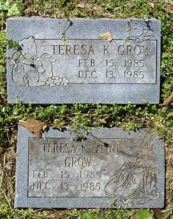 GROW, TERESA KAYLINE - Benton County, Arkansas | TERESA KAYLINE GROW - Arkansas Gravestone Photos