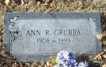 GRUBBA, ANN ROSE - Benton County, Arkansas | ANN ROSE GRUBBA - Arkansas Gravestone Photos
