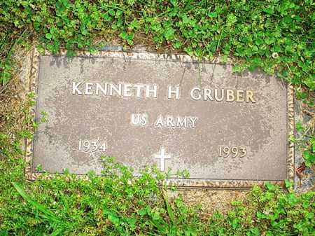 GRUBER (VETERAN), KENNETH H. - Benton County, Arkansas | KENNETH H. GRUBER (VETERAN) - Arkansas Gravestone Photos
