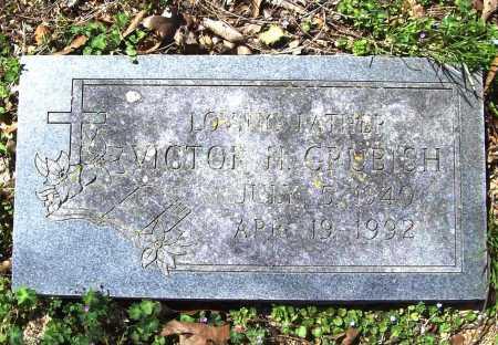 GRUBISH, VICTOR H. - Benton County, Arkansas | VICTOR H. GRUBISH - Arkansas Gravestone Photos